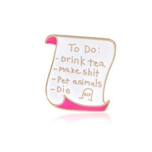 Any 2 $5 Items for $8~To Do List Tack Pin